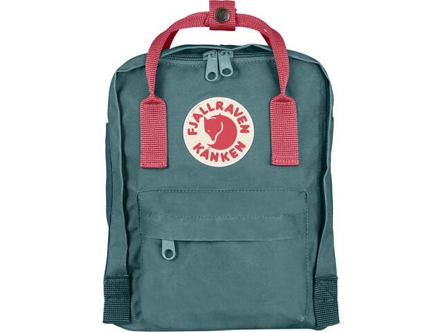Fjällräven Kånken Mini Backpack Kinder frost green/peach pink